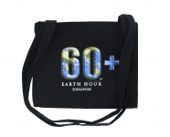 EARTH HOUR SINGAPORE CANVAS BAG