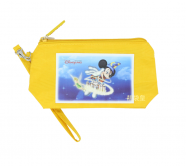 YELLOW DISNEYLAND PEN CASE